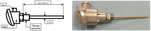 thermocouple environnement difficile HFTC