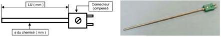 thermocouple isolant minéral MI