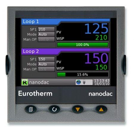 Enregistreur régulateur Nanodac
