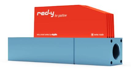débitmètre massique thermique, contrôleur pression massique RED-Y