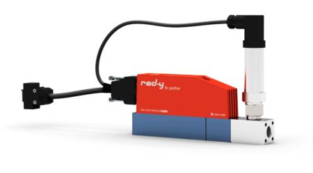 mesureur débit régulateur pression électronique gaz