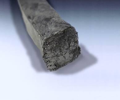 tresse renforcée graphite faible émission