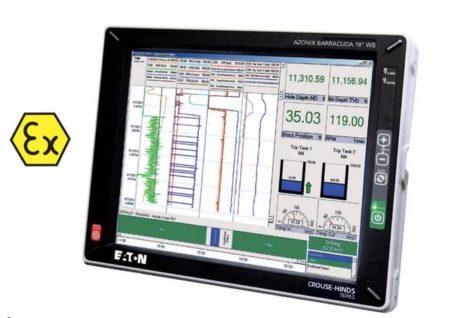 Ecran indicateur mtl workstation atex, écran Azonix Barracuda
