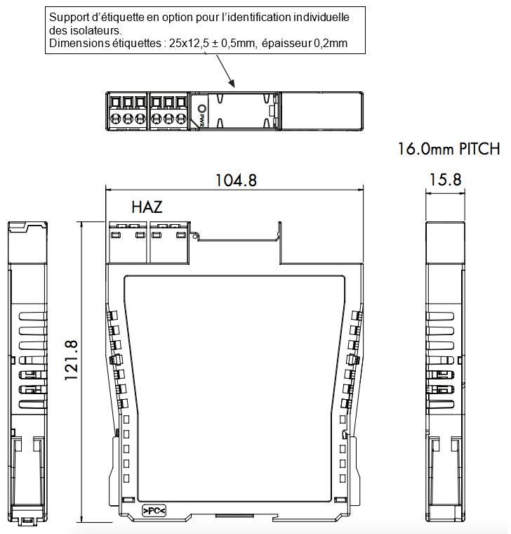 isolateur mtl4500 sécurité intrinsèque