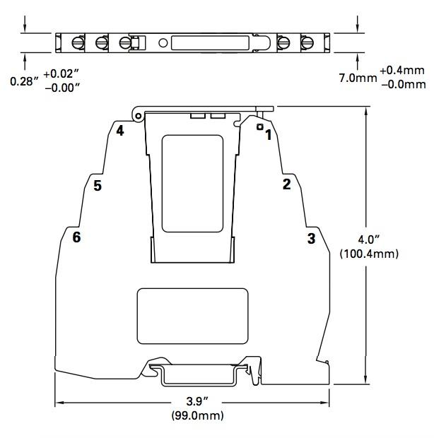 protection contre surtensions signaux module MTL SD