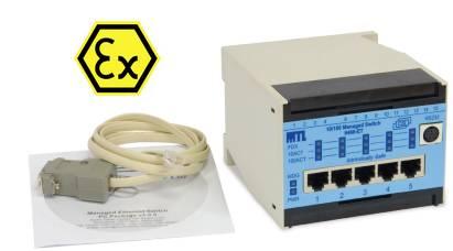 switch ATEX sécurité réseau industriel, commutateur Ethernet 9466-ET